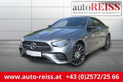 Mercedes-Benz E 200 4MATIC Aut. Coupe AMG-Line bei AutoReiss GmbH & Co KG in